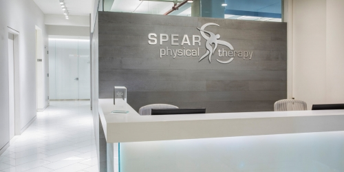 SPEAR Physical Therapy NYC Midtown Central Park South West 57th Street Front Desk