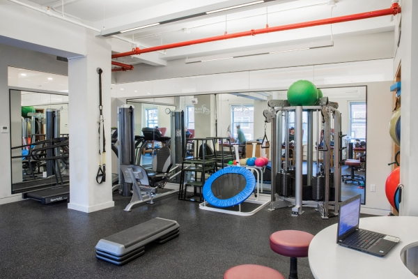 Midtown NYC Physical Therapy Gym on Central Park South | SPEAR Physical Therapy on West 57th Street