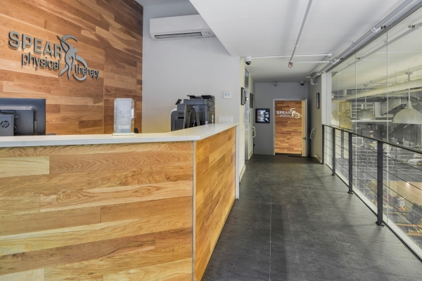 SPEAR Physical Therapy NYC Front Desk at Chelsea Facility on 16th Street