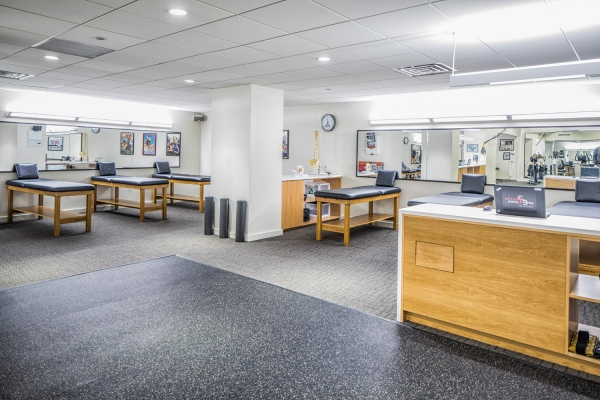 Another view of the treatment facility of SPEAR Physical Therapy NYC's 30 Broad Street location in the Financial District