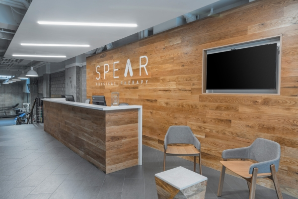 SPEAR Physical Therapy NYC Lobby in Murray Hill on East 34th Street
