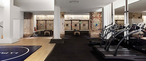SPEAR Physical Therapy Midtown Manhattan facility in NYC's Plaza Hotel with LA PALESTRA