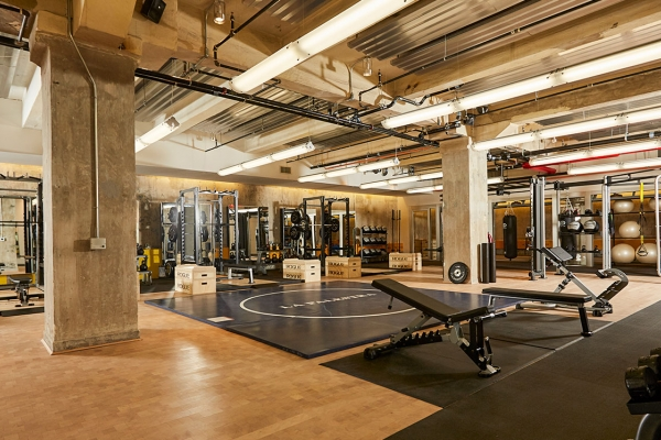 Gym View of 70 Pine Street SPEAR Physical Therapy Financial District