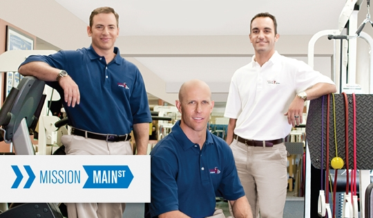 SPEAR featured in Chase Bank's Mission Main Street advertising campaign