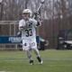 Jared Schiffer, physical therapist, playing lacrosse
