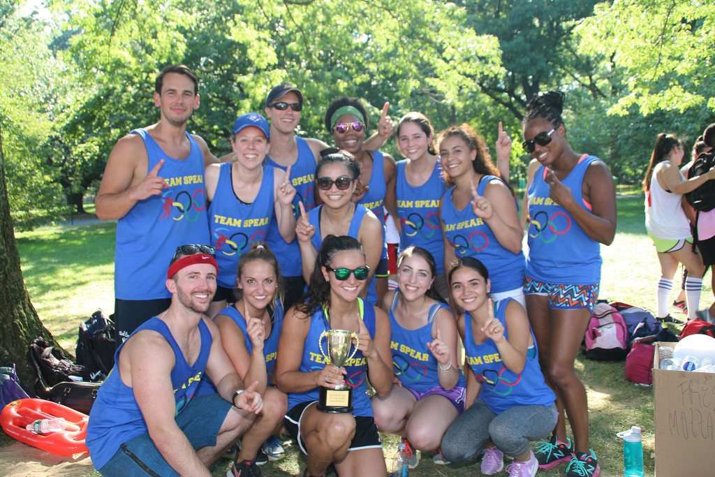 The best Physical Therapists in NYC celebrate and bond with their team