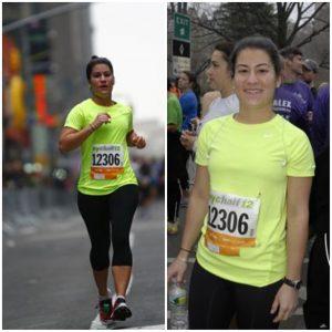 Danielle Harris at marathon
