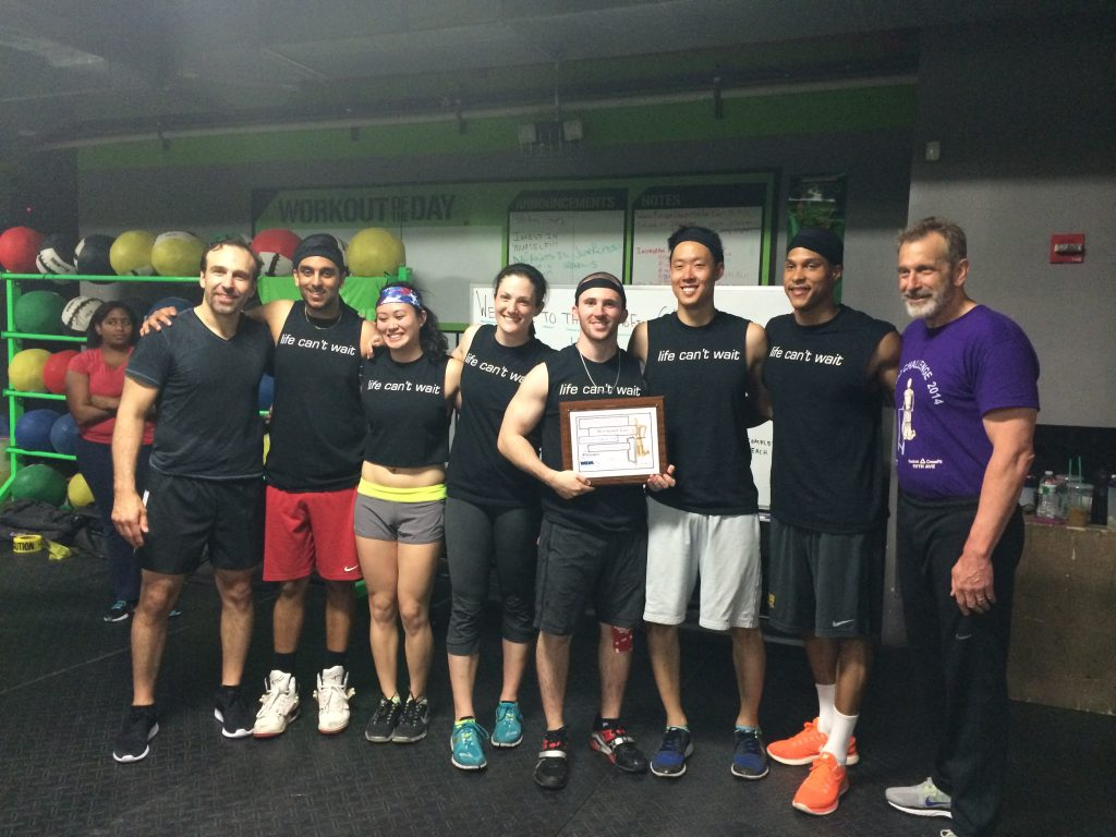 SPEAR's CrossFit Team with Dr. Jazrawi and Dr. Zuckerman
