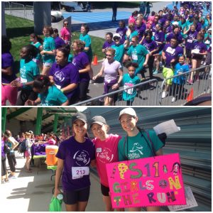 Girls on the Run event footage