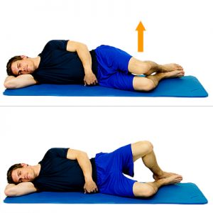 SPEAR Back to Life Exercise: Side-Lying Clam Shell
