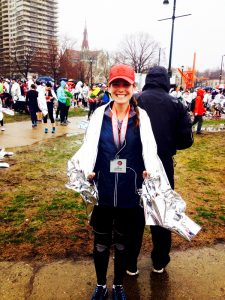 Rebecca Genter after run