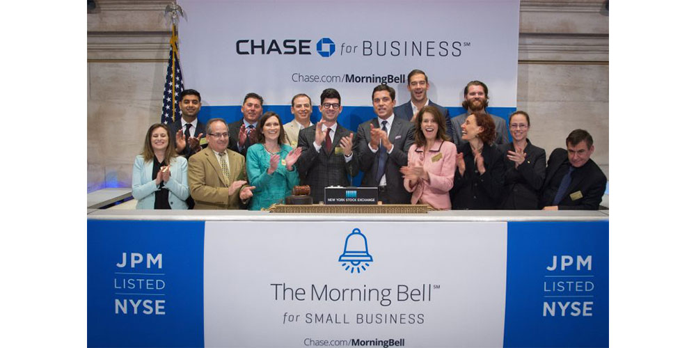 an Rootenberg, President & CEO of SPEAR Physical Therapy, joins a handful of successful small business owners chosen to ring the Morning Bell at the New York Stock Exchange.