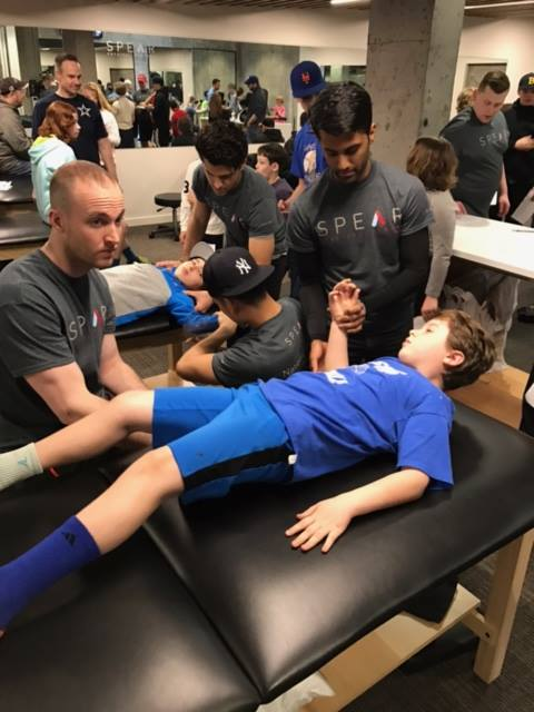 Physical Therapy Baseball Screening in NYC