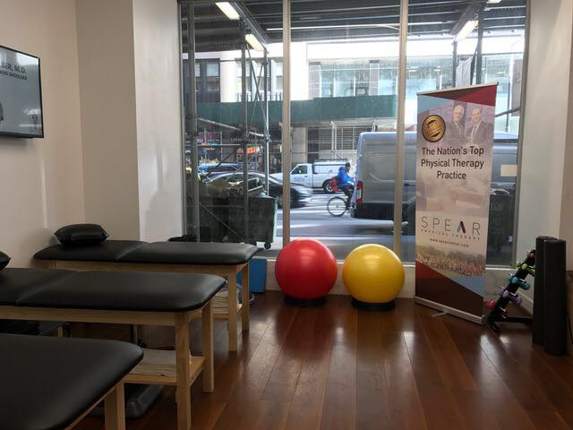 Physical Therapy equipment in the Tribeca practice