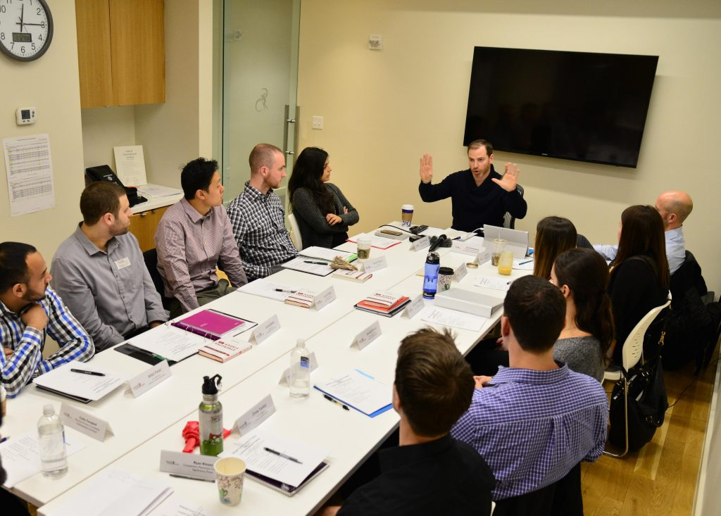 SPEAR President & Co-Founder presents to the SPEAR Future Leaders Program consisting of NYC Physical Therapists