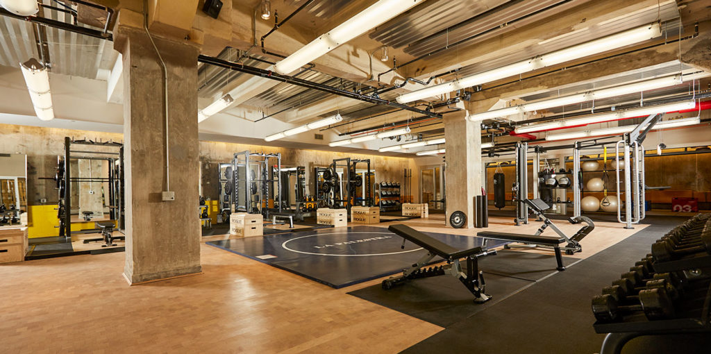SPEAR Physical Therapy and La Palestra at 70 Pine Street