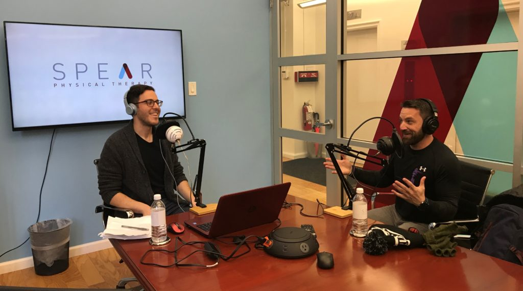 Jay Asparro Podcast with SPEAR Physical Therapy
