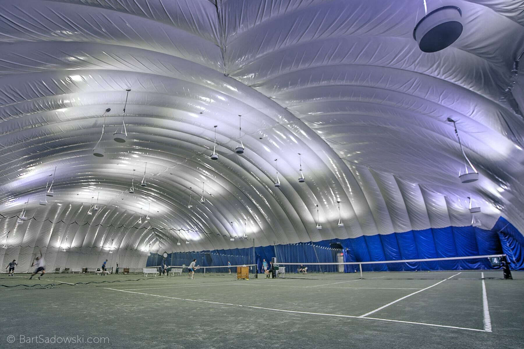 Racquet and tennis court at CityView Long Island City