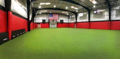 Turf area at new physical therapist clinic in Westchester NY